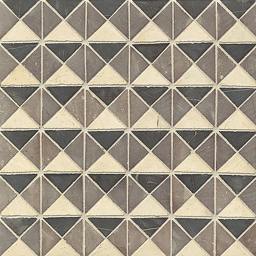 Swart Bo-Kaap Blocks Mosaic