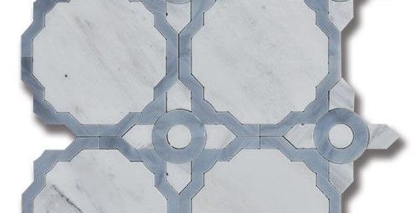 Essence Whimsy Fog Carrara Bella w/ Fog Art Glass