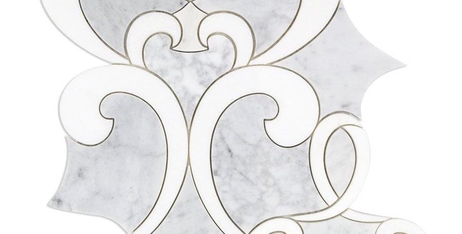 MJ Athalie (White Carrara, White Thassos)