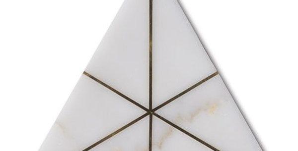 Ethereal Flicker Calacatta w/ Brass