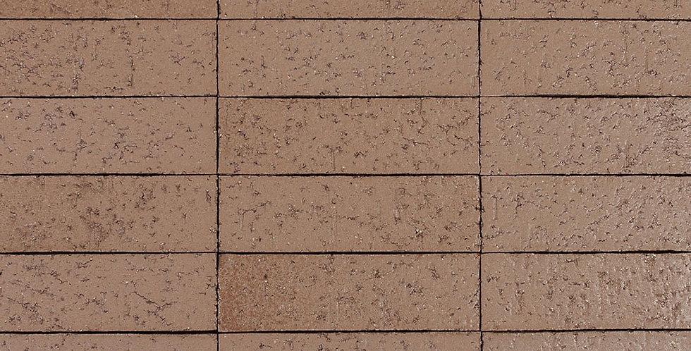 2x8 Glazed Brick Nut Shell 7504u