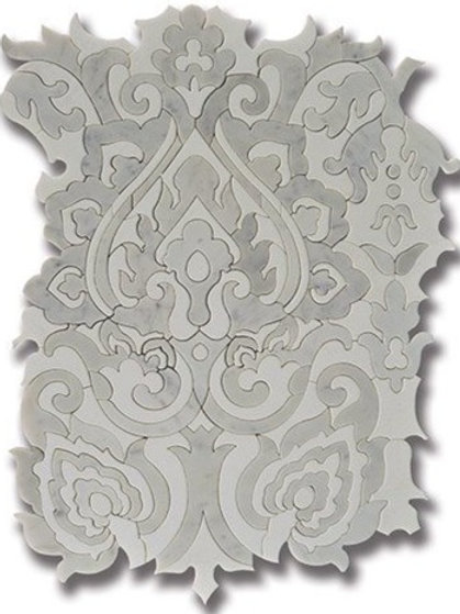 Sublime Tapestry Carrara with Thassos