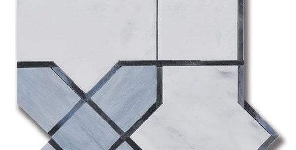 Essence Legacy Fog Carrara Bella w / Fog Art Glass & Carrara Bella