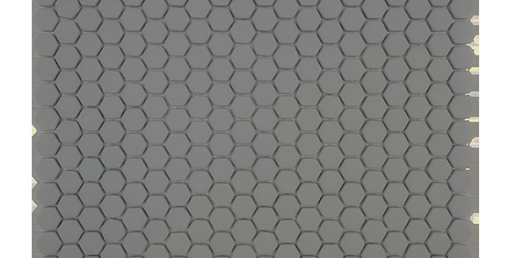 Mini Hexagon in Slate Gray