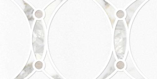 Angelique Mini (Thassos White, Calacatta Gold, Mother of Pearl, Silviano)