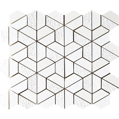 Champagne Textured 3D Hexagon Marble