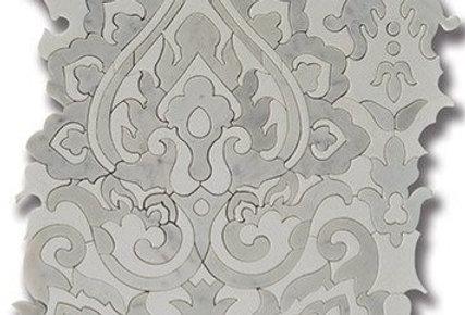Sublime Tapestry Carrara w/ Thassos