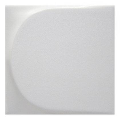Wedge White Matt 5x5
