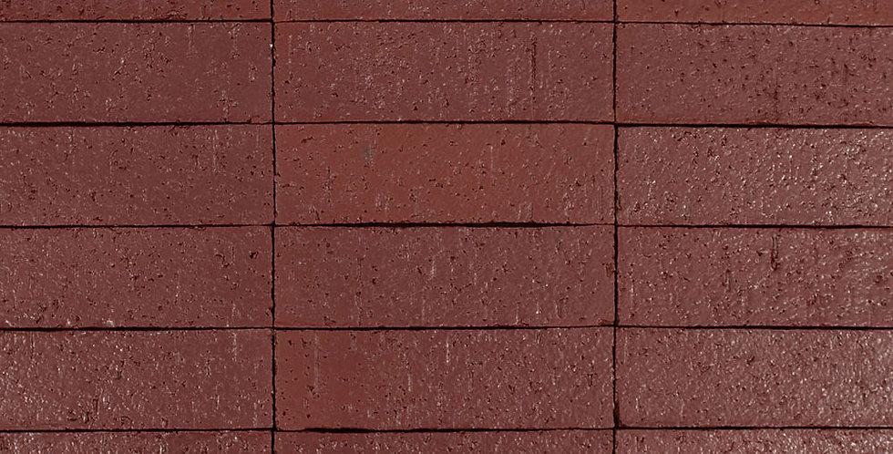 2x8 Glazed Brick Pueblo Red