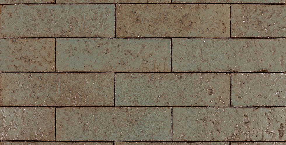 2x8 Glazed Brick Elder Green