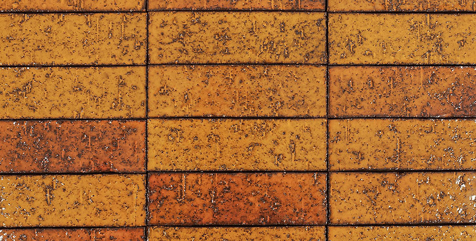 2x8 Glazed Brick Cadmium Yellow
