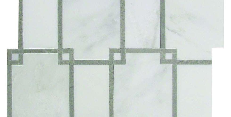 Geometric (Asian Carrara, Cinderella Gray)