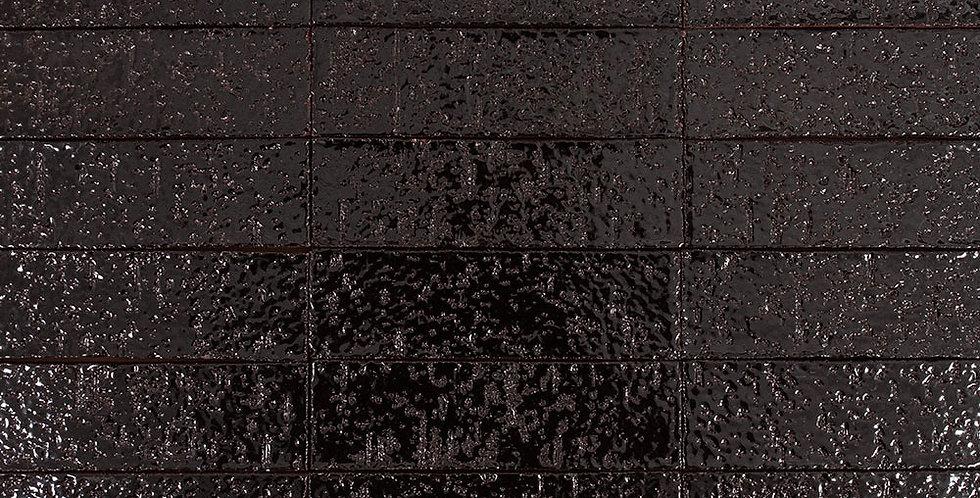 2x8 Glazed Brick Licorice