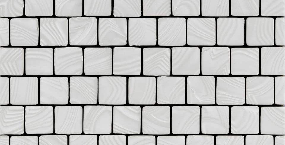 Namibia Square Ripples - White Sand
