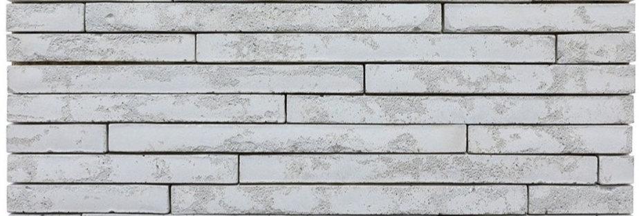 2x20 Newport Brick Early Gray Limestone