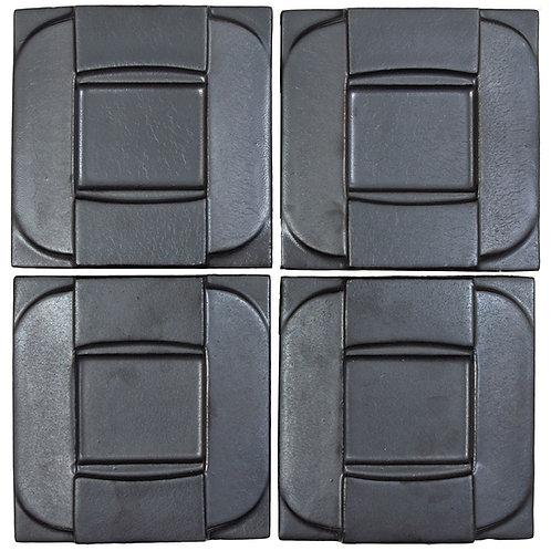 6x6 Ceramic Buckle Graphite
