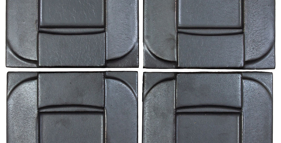 6x6 Ceramic Buckle Graphite