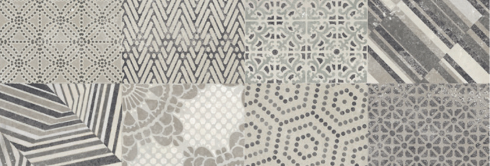 The One Inserto Azulejos Silver
