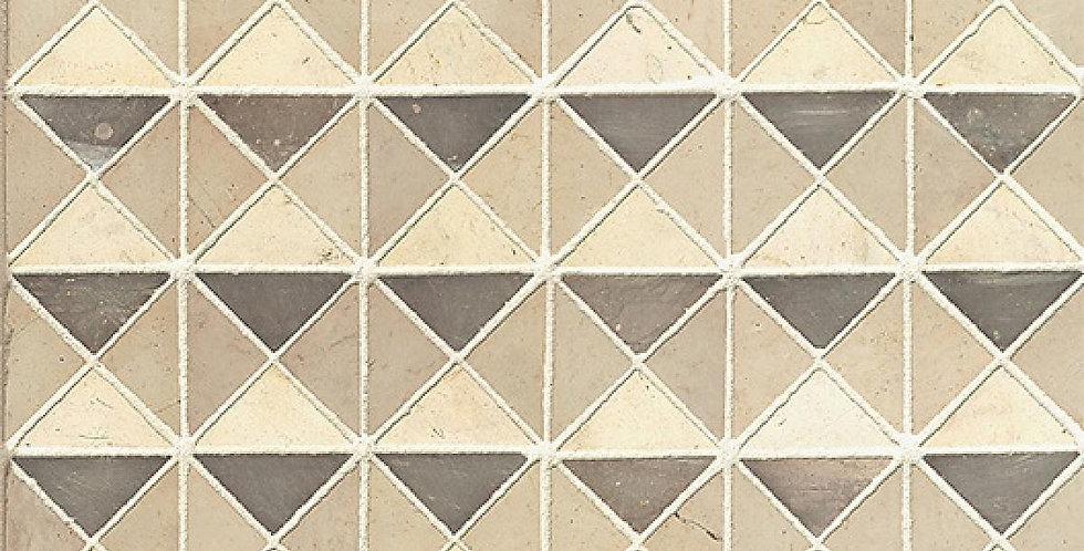Grys Bo-Kaap Blocks Mosaic