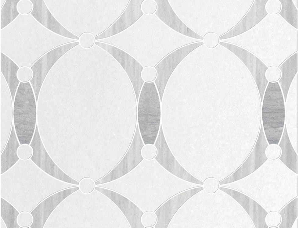Angelique Mini (Thassos White, Merceene Vena, Grigio Elegante)