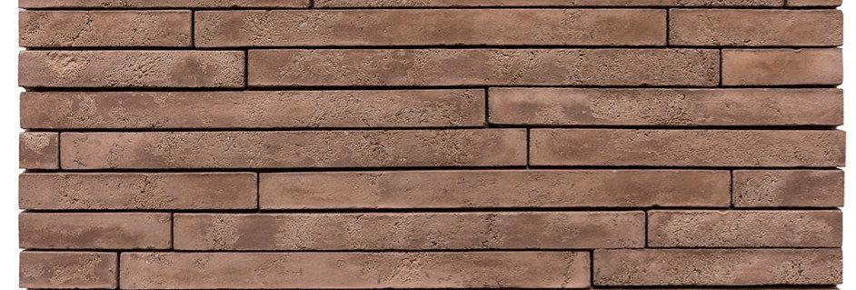 2x20 Newport Brick Cotto Dark Limestone