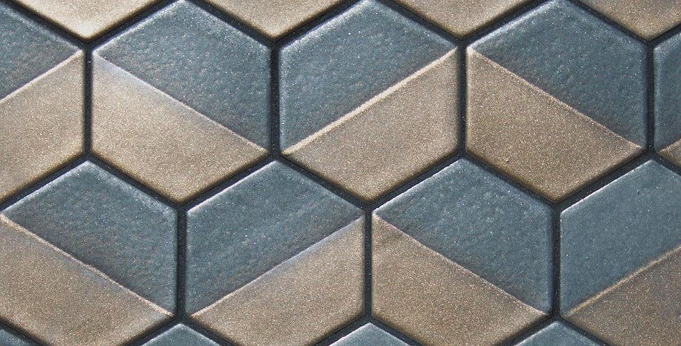 Hexagon 3.5″ Cookie Dip Mosaic