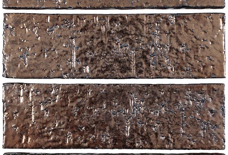 2x8 Glazed Brick Bronze