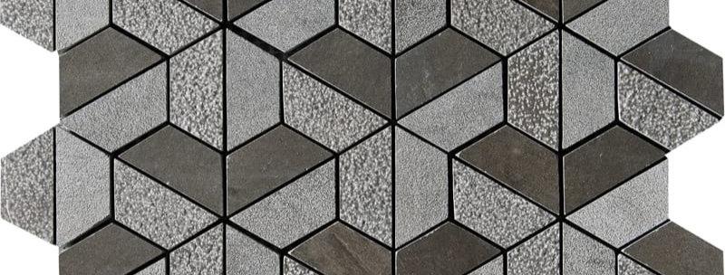 Bosphorus Textured 3D Hexagon Marble