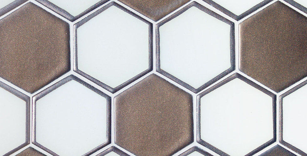 Hexagon 3.5″ Frame Dip Mosaic
