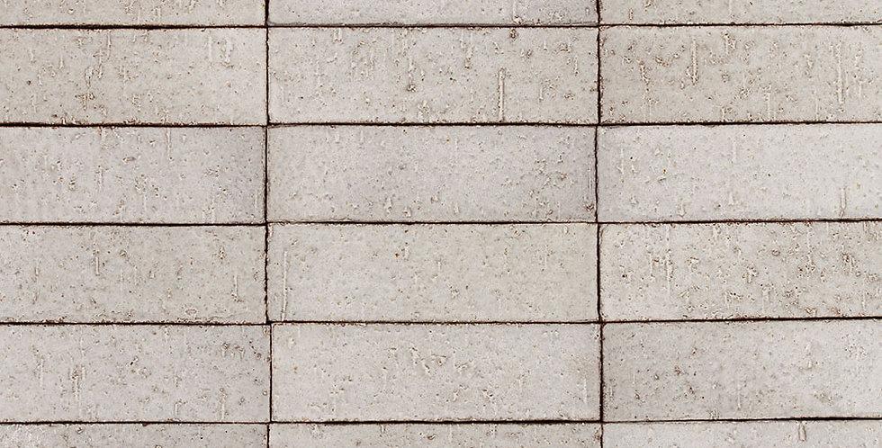 2x8 Glazed Brick Sierra Snow