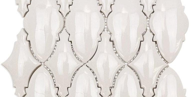 Baroque Ornate Blanco
