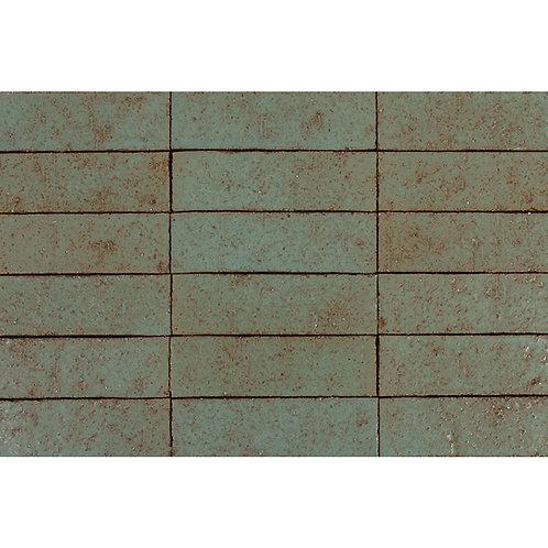 2x8 Glazed Brick Chrome