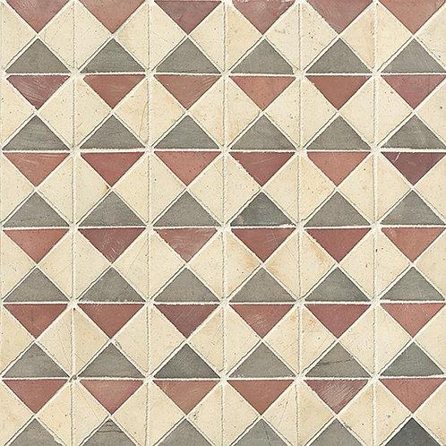 Rooi Bo-Kaap Blocks Mosaic
