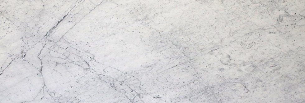 Carrara White Honed