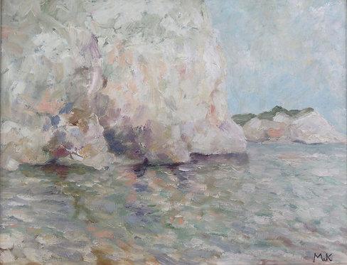 Cliffs in Summer