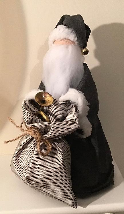 Santa L - Grey suiting