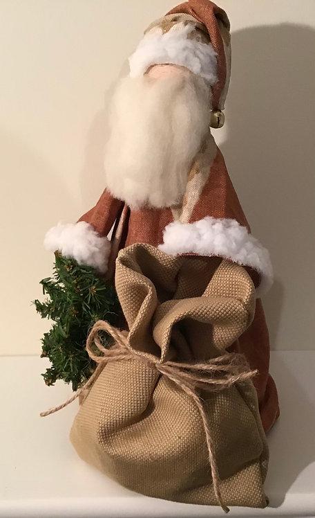 Santa F - Rust/Gold linen