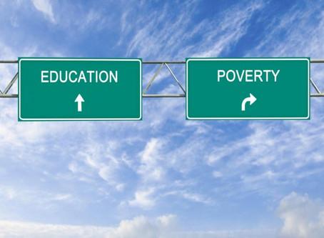 Educación vs. Pobreza.