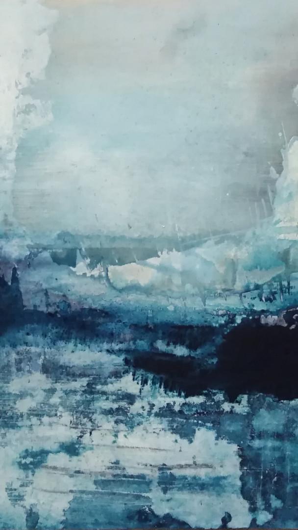 Blue on ice
