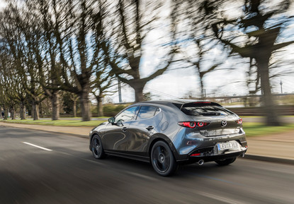 2021 Mazda3 Machine Grey, Action 32.jpg