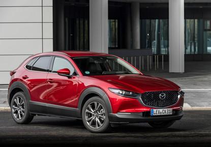 2021 Mazda CX-30 Soul Red Crystal, Stati