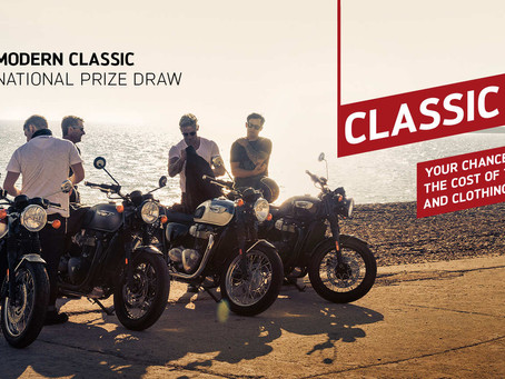 Triumph Classic Kick Back!