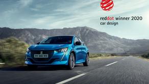 'Red Dot Award 2020': Novos PEUGEOT 208 e 2008 recebem prémio de design