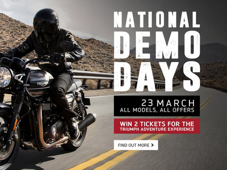 Demo Day! 23 March