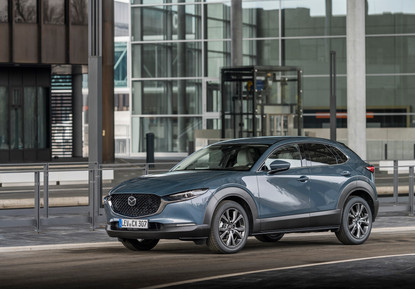 2021 Mazda CX-30 Polymetal Grey, Static