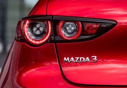 2021 Mazda3 Soul Red Crystal, Detail 04.