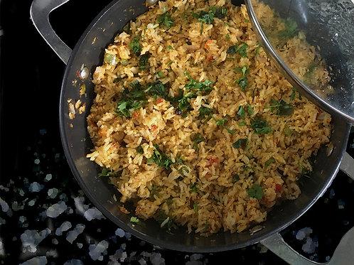 Vegetable Coconut Rice
