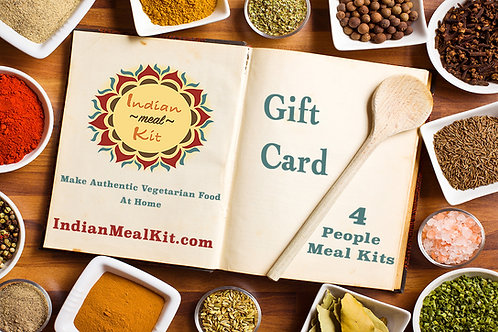 IMK Gift Card for 4 People