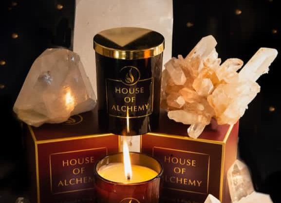 House of Alchemy Candle Myrrh & Basil