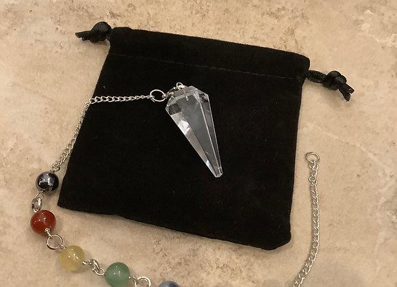 Pendulum Bracelet Clear Quartz